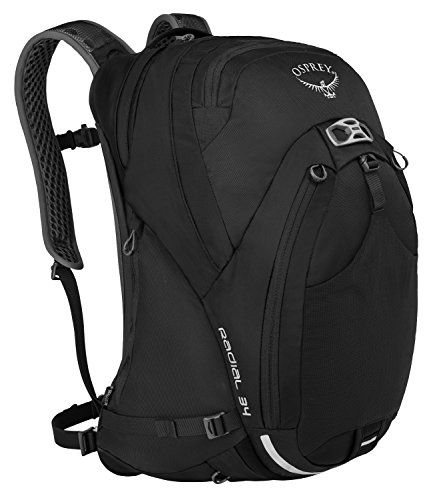 Osprey Packs Radial 34 Daypack, Black, Small/Medium