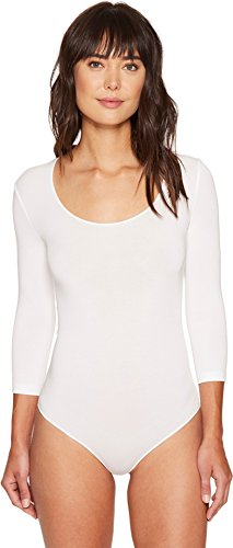 - Wolford Women's Tokio Thong Bodysuit, White, X-Small