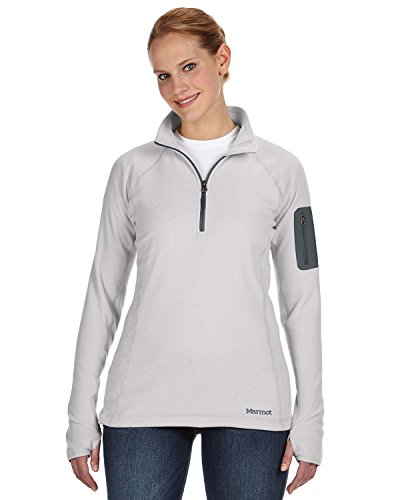 marmot-womens-flashpoint-1-2-zip-shirt-platinum-medium