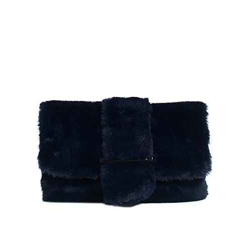 Parfois - Clutch - Bolso Piggy - Mujeres Azul Marino