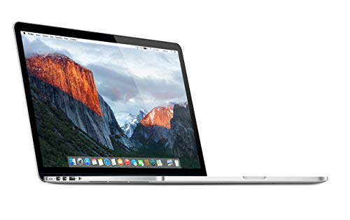 "Apple 15.4"" MacBook Pro Laptop with Retina Display, Intel Core i7, 16GB RAM, 512GB SSD - MJLT2LL/A (Renewed)"
