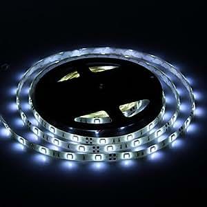 Waterproof 5M 30W 30x5050SMD 1500-1800LM 6000-7000K Cool White Light LED Strip Light (DC12V)