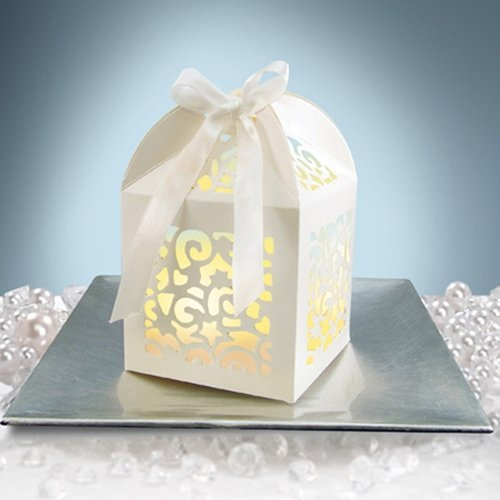 Favor Gift Ribbon Inches White