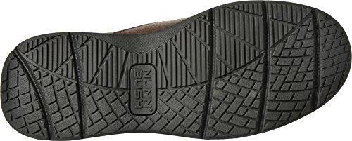 Nunn Bush Mens Cam Slip-on Loafer Brun Tumlade Läder