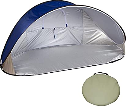 size 40 32c6a 3ac05 Trademark Innovations 7' Portable Pop-Up Wind & Sun Shelter Tent Canopy  with Carry Bag