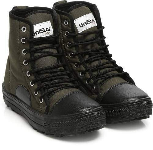 8a136288ce9c Unistar High Ankle Jungle Boots  Buy Online at Low Prices in India -  Amazon.in