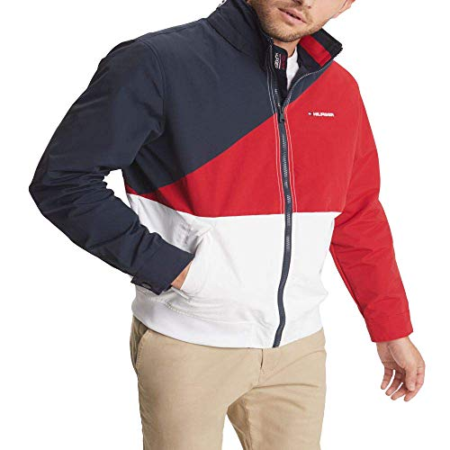 Tommy Hilfiger Men's Lightweight Waterproof Regatta Jacket