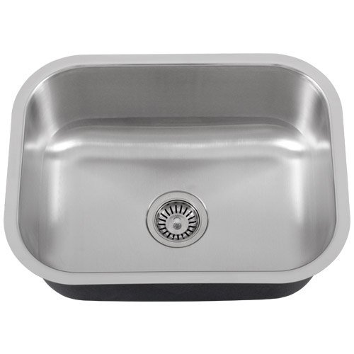 "Phoenix PH-185 23"" Single-Bowl 18-Gauge Stainless Steel Kitchen / Laundry Sink"