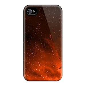For Iphone Case, High Quality Orange Space For Iphone 4/4s Cover Cases