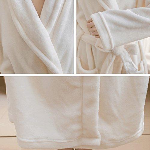 Dolce ZLR Camicia Accappatoi da Pigiama da B lunghe carino notte Autumn e casa Season maniche Abbigliamento a Lady Winter AdZd7q