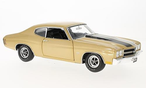 Chevrolet Chevelle SS 396, gold, 1970, Model Car, Ready-made, GMP / ACME 1:18 (Ss 396 1970 Chevelle)