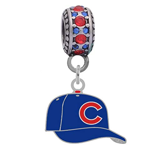 - Final Touch Gifts Chicago Cubs Ball Cap Charm Fits Most Bracelet Lines Including Pandora, Chamilia, Troll, Biagi, Zable, Kera, Personality, Reflections, Silverado and More ...