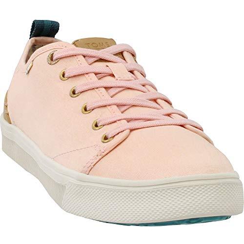 TOMS Women's TRVL LITE Low Coral Pink Canvas 8.5 B ()