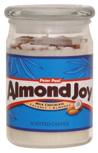 Hershey's by Hanna's Candle 15-Ounce Almond Joy Jar - Hannas Candle