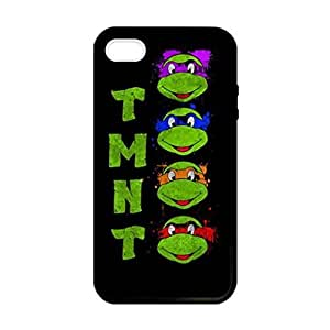 TMNT Teenage Mutant Ninja Turtles Image Protective Iphone 5s / Iphone 5 Case Cover Hard Plastic Case for Iphone 5 5s