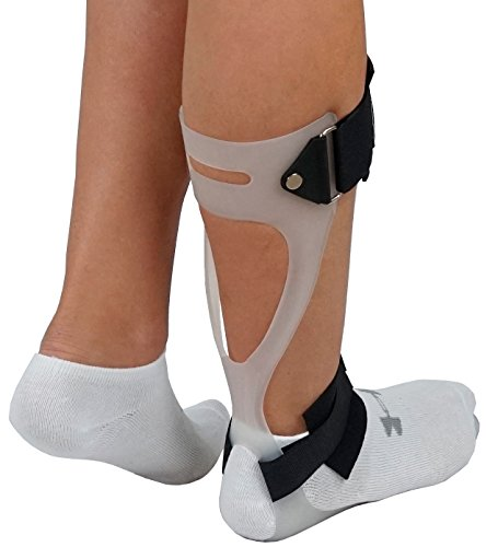 ORTONYX Ankle-Foot Orthosis AFO Support Foot Drop Brace – Right X-Large White