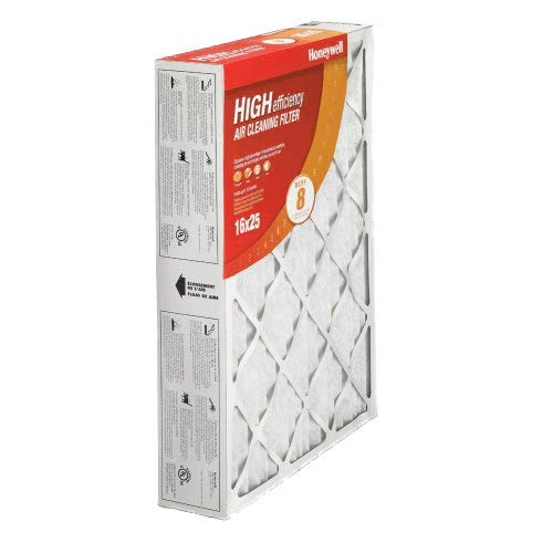 Honeywell CF100A1009 High Efficiency Air Cleaner Filter-  16 x 25 x 4 - 2 pack (Honeywell 25 1 Air 16 Filters)
