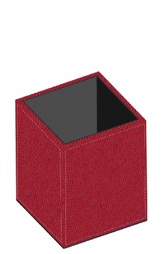 Pierre Belvedere Executive Pencil Holder, Red (678450)