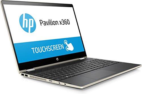 Amazon.com: HP Pavilion 15-cr0053wm X360 Touch Convertible Laptop, Intel Core i5-8250U Processor; 4GB SDRAM Memory, 16GB Intel Optane Memory, 1TB Hard Drive ...