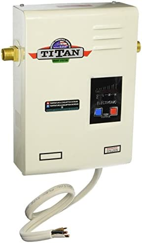 Titan N-120 Electronic Digital Tankless Water Heater By Niagara Industries Inc. 29 Years in Business