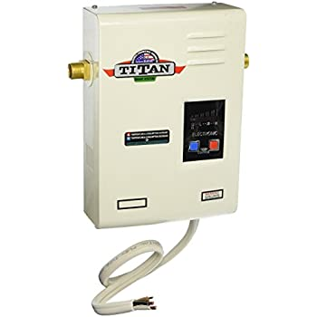 titan� n-120 electronic digital tankless water heater by niagara industries  inc  29 years in business