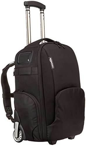 AmazonBasics Convertible Rolling Camera Backpack product image