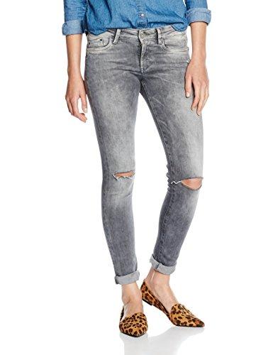 Pepe Jeans Pixie - Jeans - Skinny - Femme Gris (Denim D84)