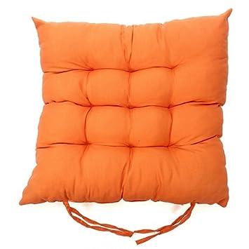 40cm Caomoa double face Fauteuil rembourr/é en peluche chaud Pad carr/é Coton Galette de chaise D/écoration de bureau /à domicile Green 40