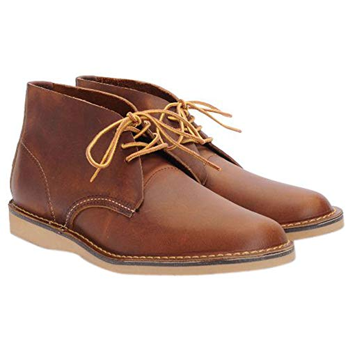 Red Wing Heritage Men's Weekender Chukka, Copper Rough & Tough, 11 D - Boots Red Men Wing Work