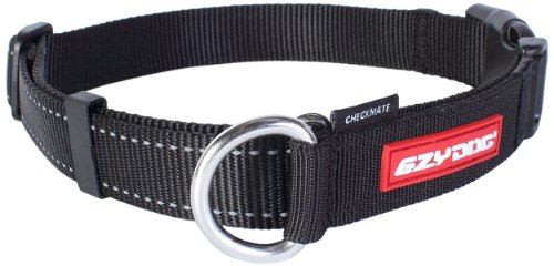 Ezydog Checkmate Collar, Medium, Black