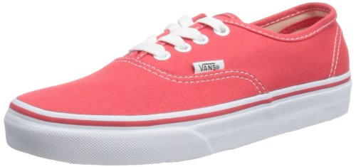 28cc6fa8089e Vans Authentic Shoes - Hibiscus True White UK 3  Amazon.co.uk  Shoes ...