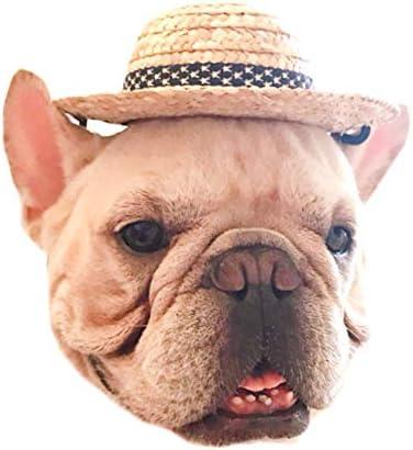 애완 동물 용 아메리칸 스타 밀 짚 모자 / American Star Straw Hat for Pets