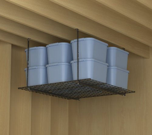 HyLoft 00625 45-Inch by 45-Inch Overhead Storage System, Hammertone