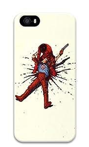 iPhone 5 5S Case Shot Dead Illustration 3D Custom iPhone 5 5S Case Cover