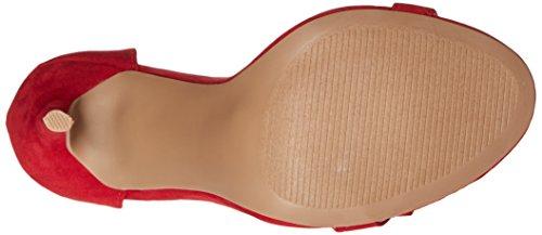 Qupid Women's Ara-245 Dress Sandal Red 1E27Fr