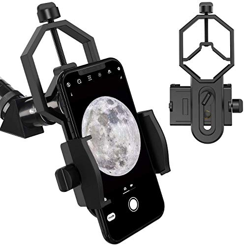 Telescope Phone Mount, Universal Smart Phone Adapter