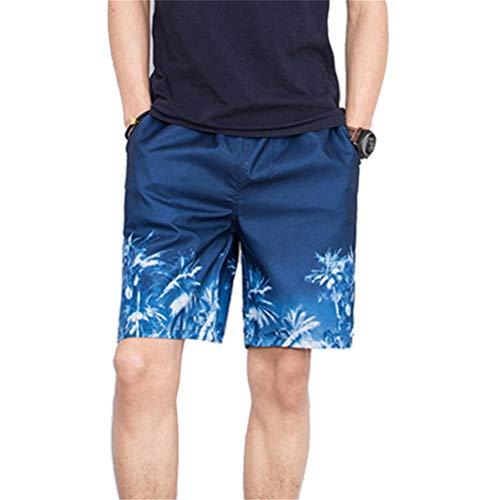 JICC Mens Shorts Shorts Men Printed Beach Shorts Causal Drawstring Fitness (,c13,XXL)