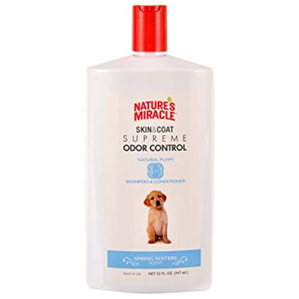 Nature's Miracle Supreme Odor Control Puppy Shampoo 32 oz Nature' s Miracle NMI06097