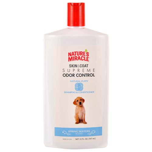 Nature's Miracle Supreme Odor Control Puppy Shampoo, 32 oz by Nature's Miracle