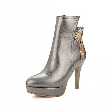 RTRY Women'S Boots Spring Fall Winter Platform Comfort Novelty Patent Leather Leatherette Wedding Office &Amp; Career Dress Casual Party &Amp; Evening US6 / EU36 / UK4 / CN36 Eumb6