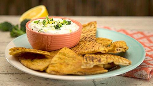 Shawarma-Spiced Pita Chips