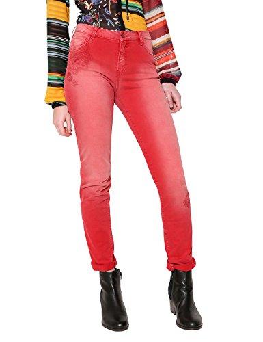 3007 borgoña Rouge Pantalon Femme Desigual angelinass Pant AOqA1g