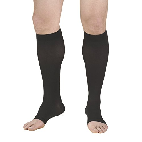 Truform 30 40 Compression Stockings Black