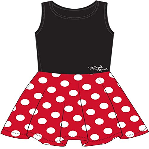 Disney Adult Junior Minnie Mouse Polka Dot Cosplay Dress X-Large]()