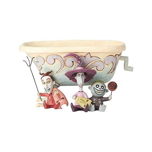 Department56 Enesco Disney Traditions Lock Shock Barrel Candy Dish, -