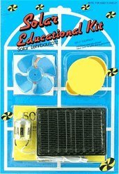 Solar Cell and Motor Hobby Kit with Fan - Demonstration Kit