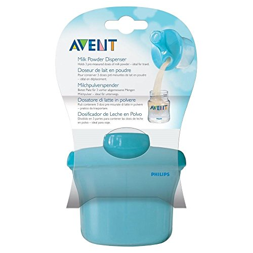 Avent Naturally Milk Powder Dispenser - Pack of 2 by Avent