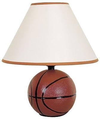ORE International 604BA Ceramic Basketball Lamp