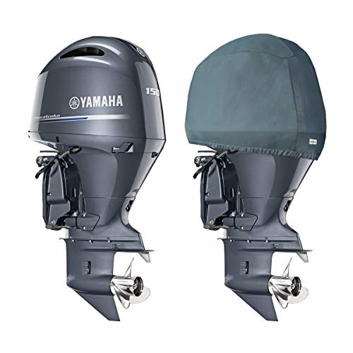 (Oceansouth Custom Fit Storage Covers for Yamaha in-LINE 4 Cylinder 2.8L Outboards F175,F200)