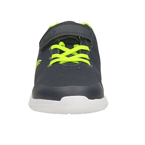 Free Boys Or Clarks In Infant Grey Sprint Trainers Navy